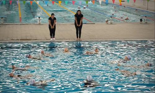 Mexico, synchronized swimming club stands out